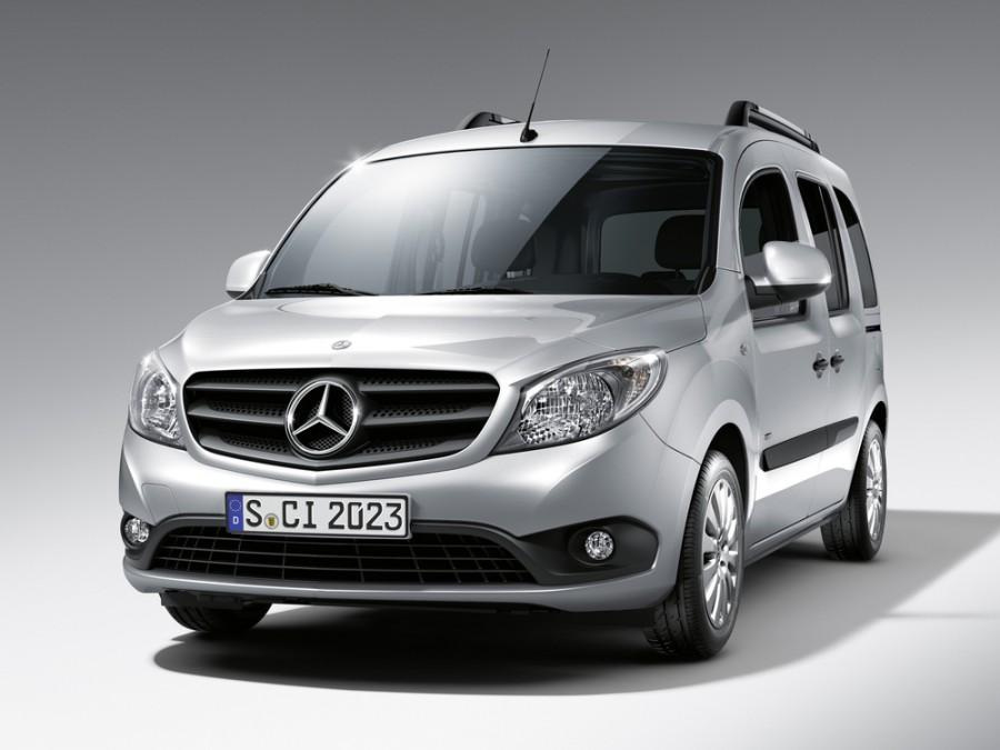 Mercedes Citan минивэн, 2012–2016, W415 - отзывы, фото и характеристики на Car.ru