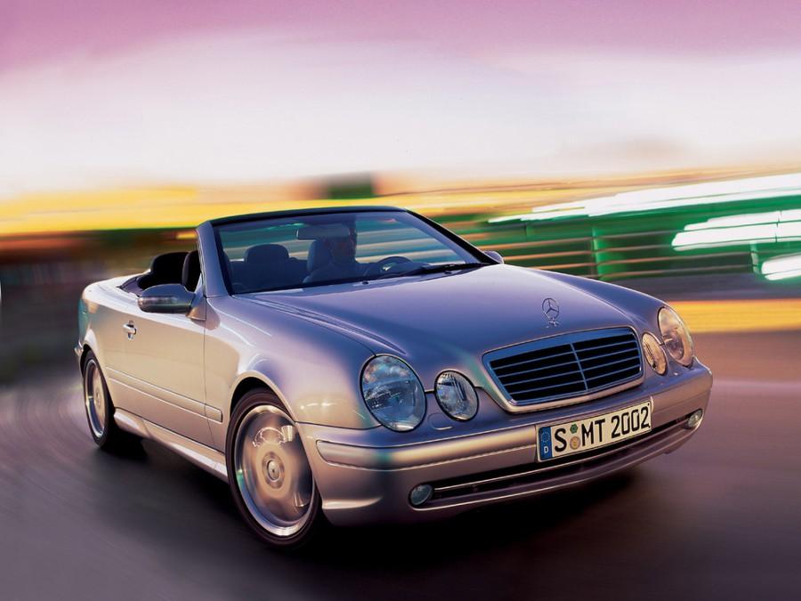 Mercedes CLK-Class AMG кабриолет 2-дв., 1999–2003, W208/A208 [рестайлинг] - отзывы, фото и характеристики на Car.ru