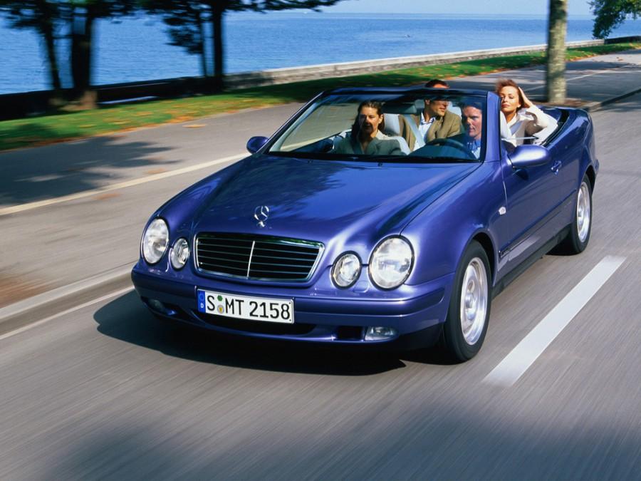 Mercedes CLK-Class кабриолет 2-дв., 1997–1999, W208/A208 - отзывы, фото и характеристики на Car.ru