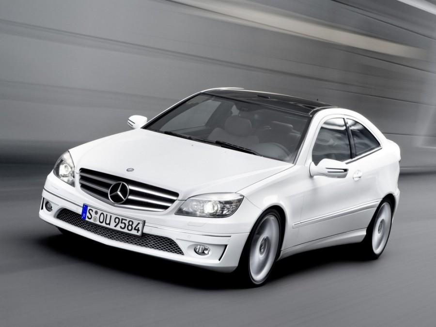 Mercedes CLC-Class купе, 2008–2011, CL203 рестайлинг - отзывы, фото и характеристики на Car.ru