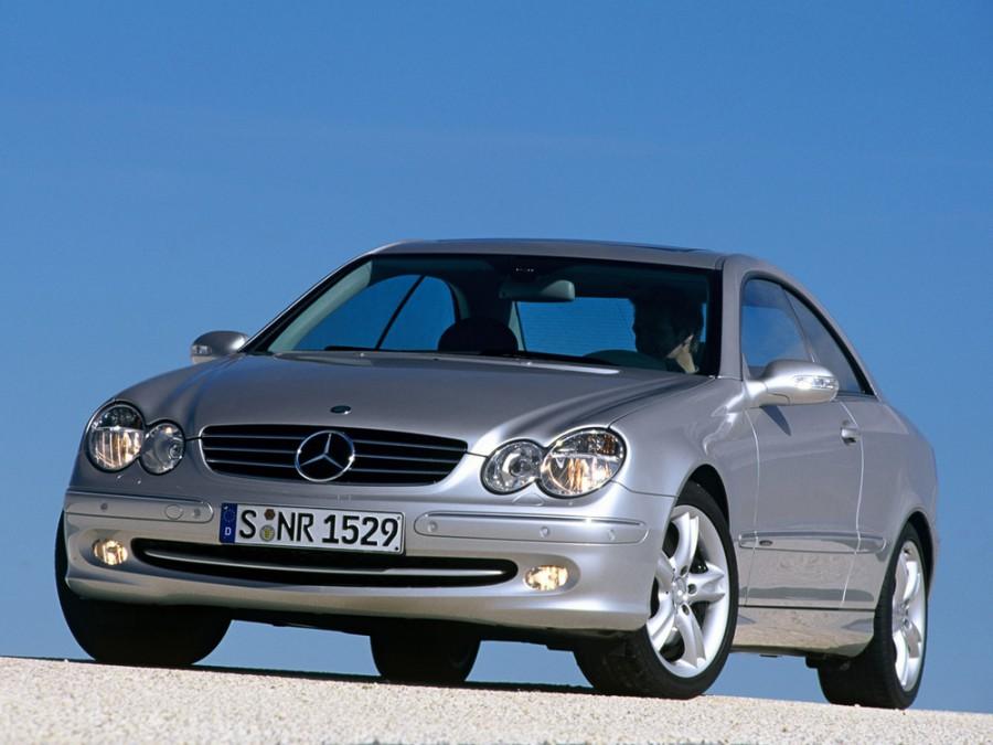 Mercedes CLK-Class купе, 2002–2005, C209/A209 - отзывы, фото и характеристики на Car.ru