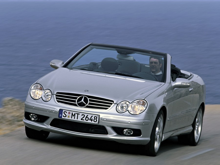 Mercedes CLK-Class AMG кабриолет 2-дв., 2002–2005, C209/A209 - отзывы, фото и характеристики на Car.ru