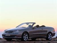 Mercedes CLK-Class, C209/A209, Кабриолет, 2002–2005