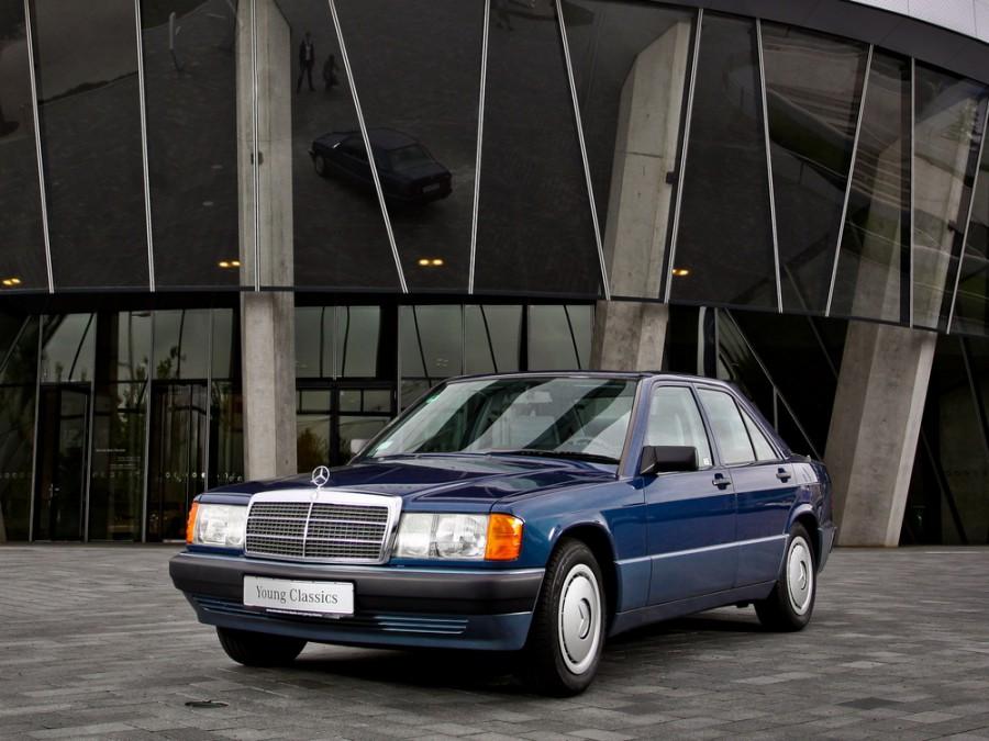 Mercedes C-Class седан, 1988–1993, W201 [рестайлинг] - отзывы, фото и характеристики на Car.ru
