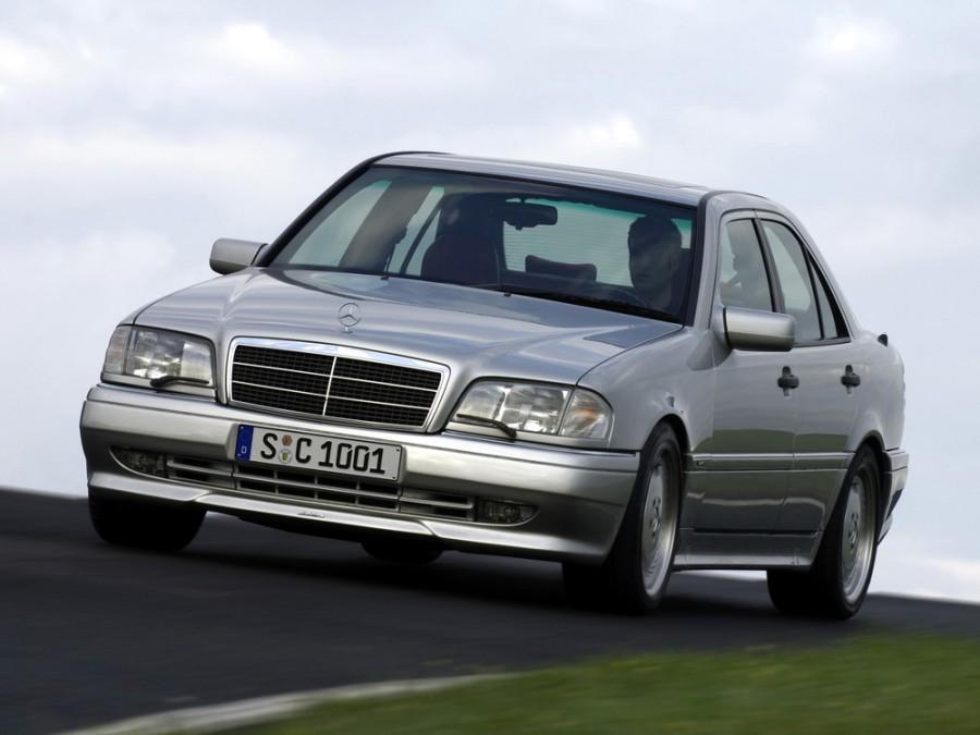 Mercedes C-Class AMG седан 4-дв., 1993–1997, W202/S202 - отзывы, фото и характеристики на Car.ru