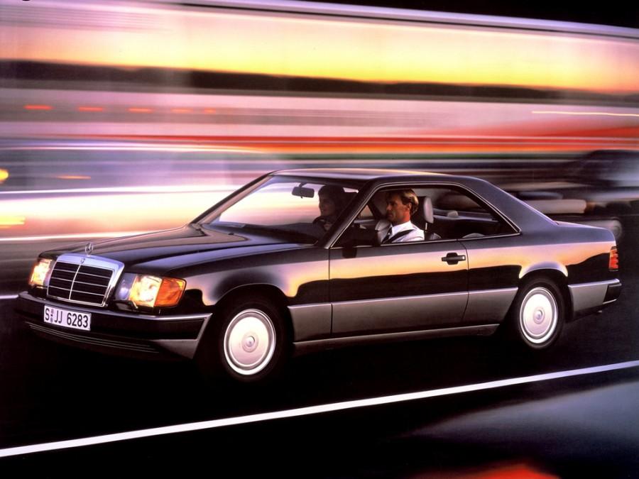 Mercedes E-Class купе 2-дв., 1985–1993, W124 - отзывы, фото и характеристики на Car.ru