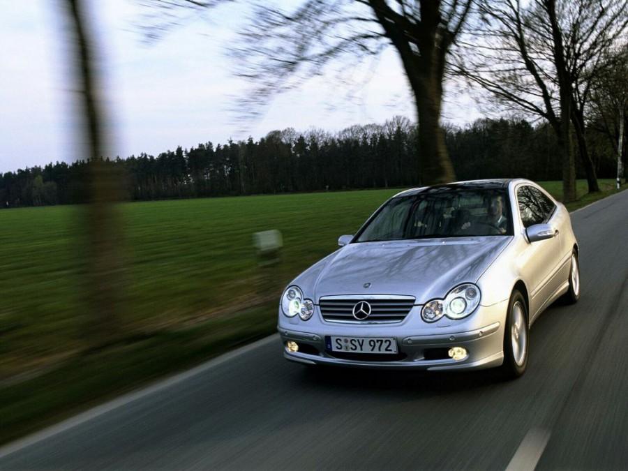 Mercedes C-Class купе 3-дв., 2000–2004, W203/S203/CL203 - отзывы, фото и характеристики на Car.ru
