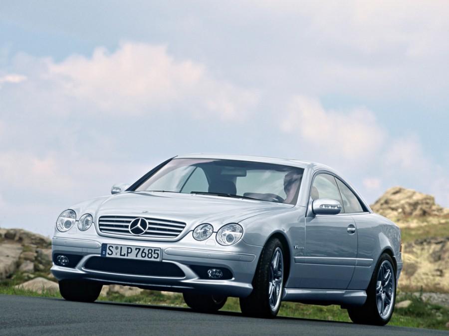 Mercedes CL-Class AMG купе 2-дв., 2002–2006, C215 [рестайлинг] - отзывы, фото и характеристики на Car.ru
