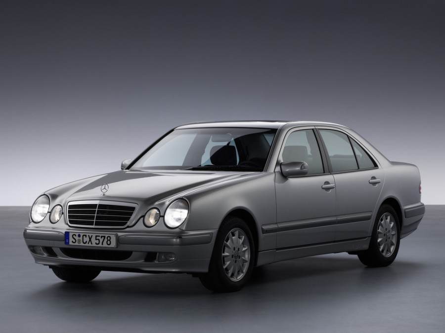 Mercedes E-Class седан, 1999–2002, W210/S210 [рестайлинг] - отзывы, фото и характеристики на Car.ru
