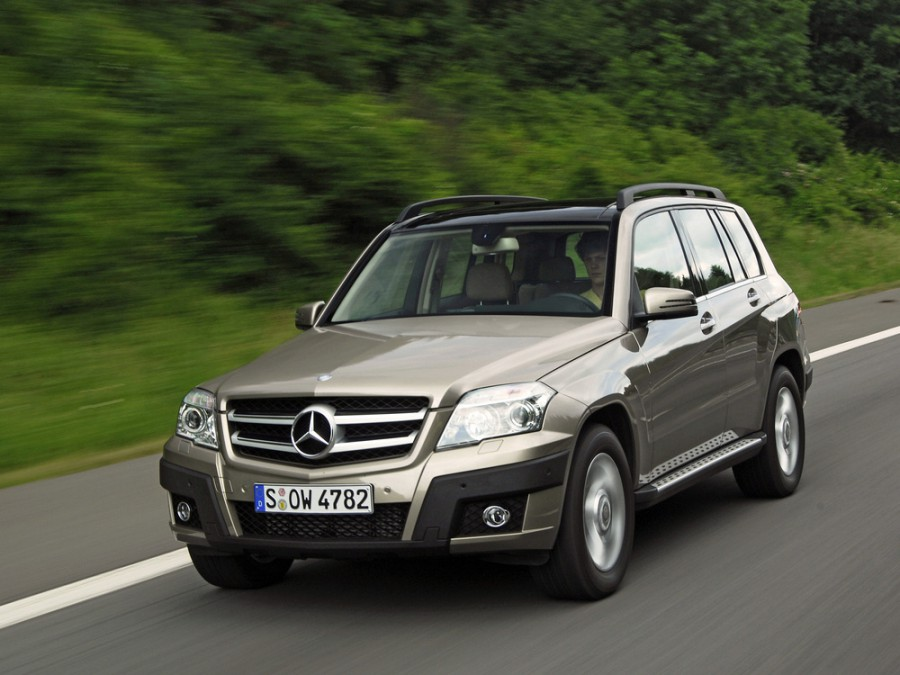 Mercedes GLK-Class кроссовер, 2008–2012, X204 - отзывы, фото и характеристики на Car.ru