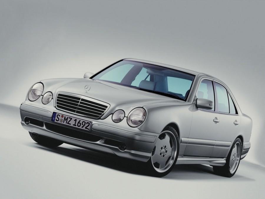 Mercedes E-Class AMG седан 4-дв., 1999–2002, W210/S210 [рестайлинг] - отзывы, фото и характеристики на Car.ru