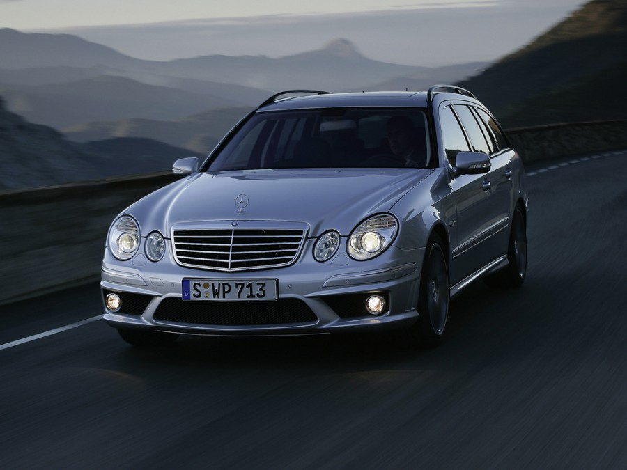 Mercedes E-Class AMG универсал 5-дв., 2006–2009, W211/S211 [рестайлинг] - отзывы, фото и характеристики на Car.ru