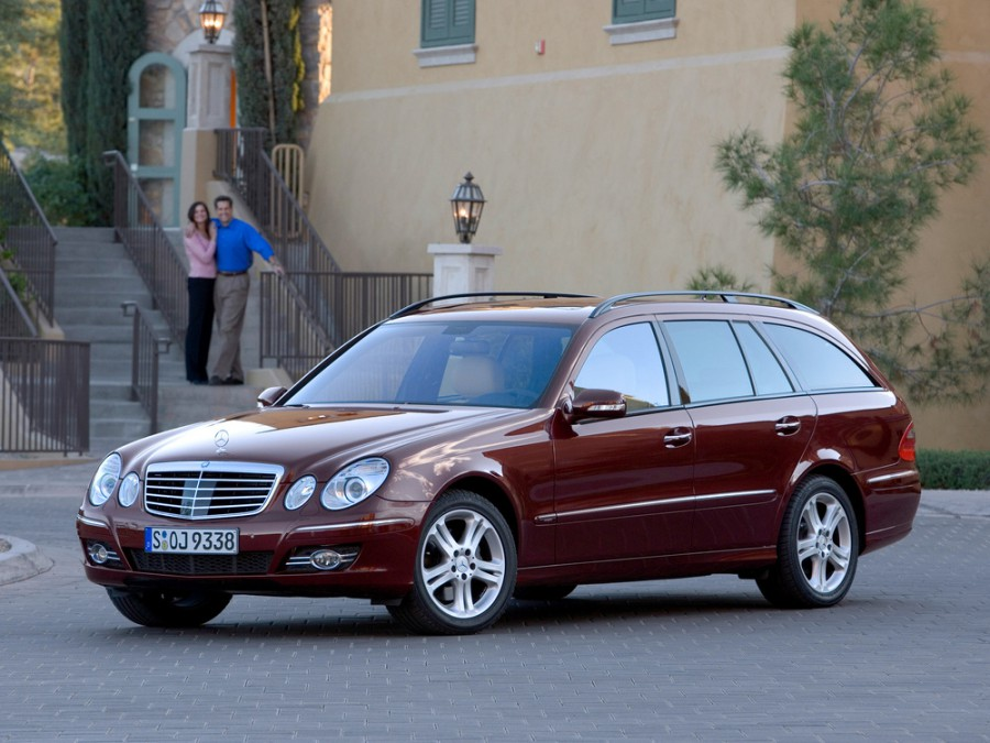 Mercedes E-Class универсал 5-дв., 2006–2009, W211/S211 [рестайлинг] - отзывы, фото и характеристики на Car.ru