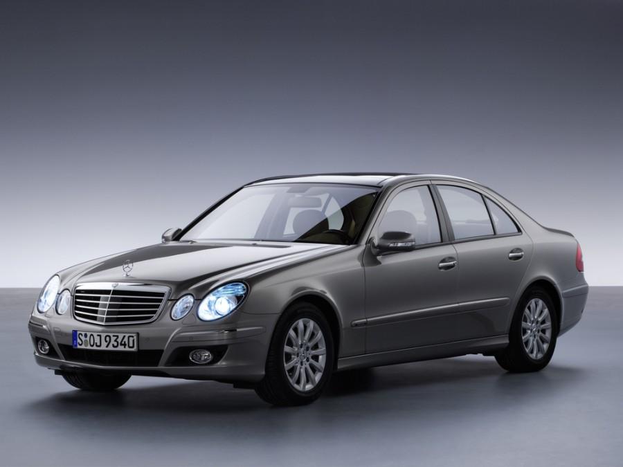 Mercedes E-Class седан 4-дв., 2006–2009, W211/S211 [рестайлинг] - отзывы, фото и характеристики на Car.ru