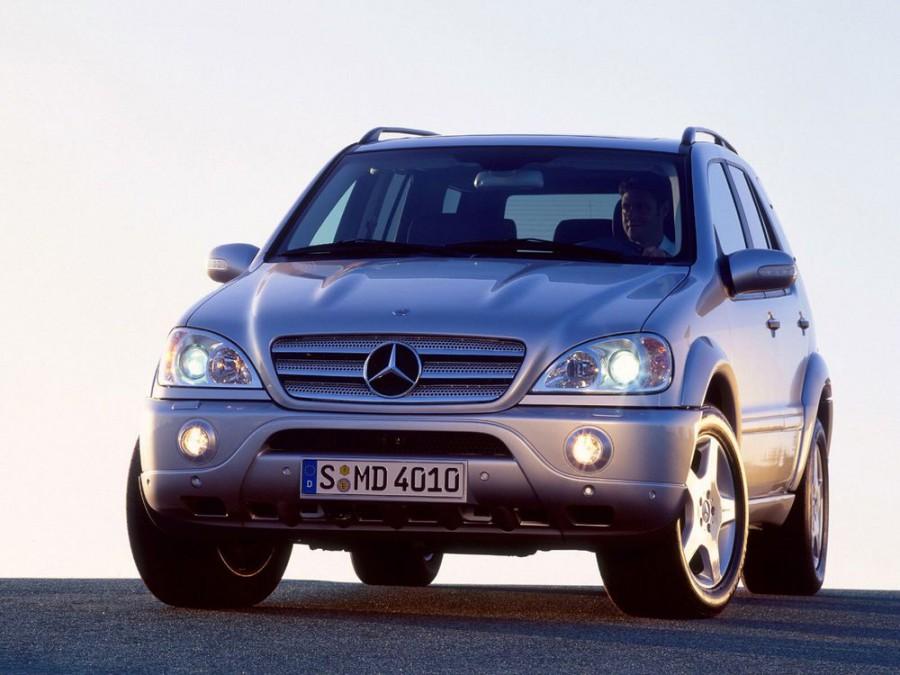 Mercedes M-Class AMG кроссовер 5-дв., 2001–2005, W163 [рестайлинг] - отзывы, фото и характеристики на Car.ru