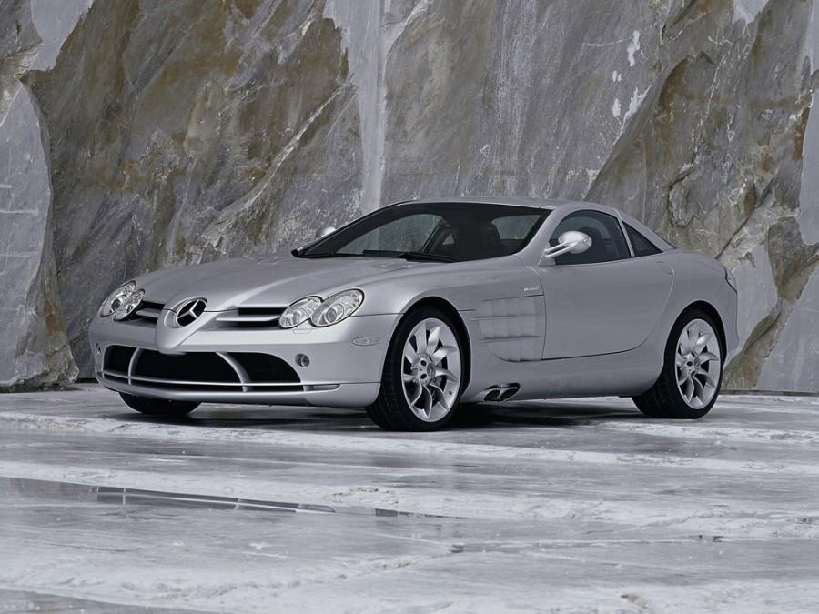 Mercedes SLR-Class купе, 2003–2010, C199 - отзывы, фото и характеристики на Car.ru