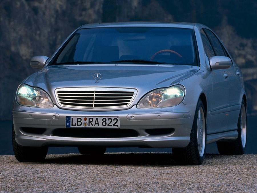 Mercedes S-Class AMG седан 4-дв., 1998–2002, W220 - отзывы, фото и характеристики на Car.ru