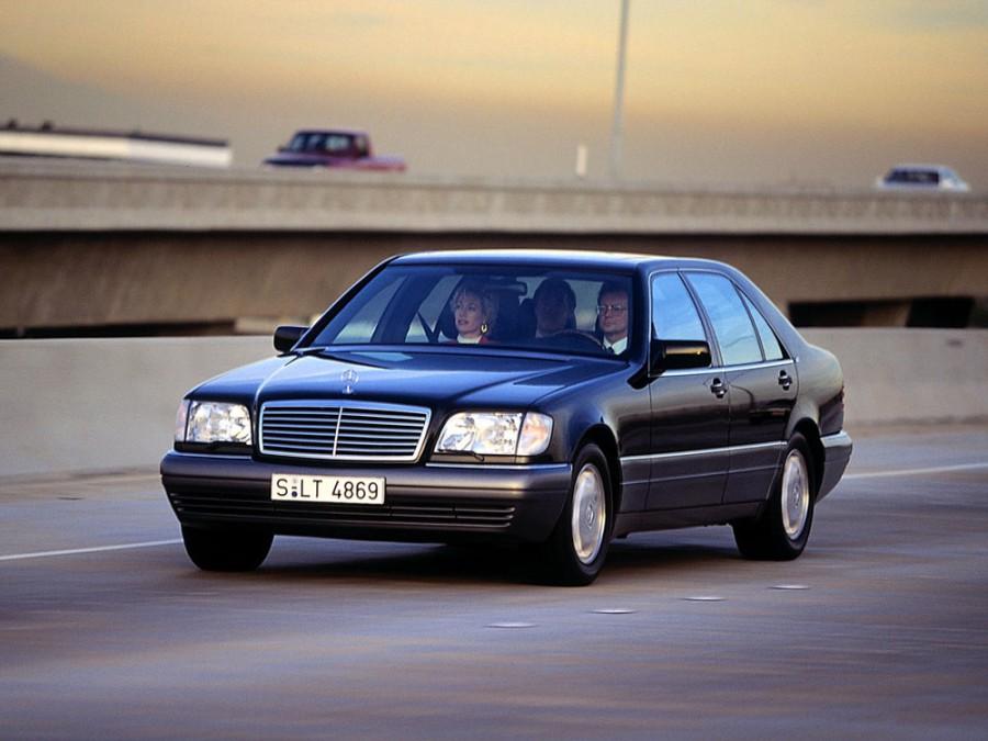 Mercedes S-Class седан, 1994–1996, W140/C140 [рестайлинг] - отзывы, фото и характеристики на Car.ru