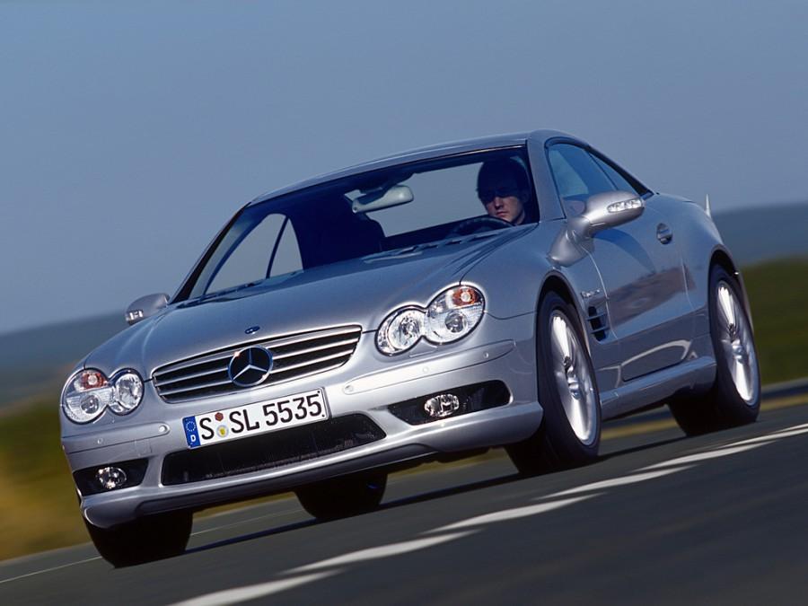 Mercedes SL-Class AMG родстер 2-дв., 2001–2006, R230 - отзывы, фото и характеристики на Car.ru
