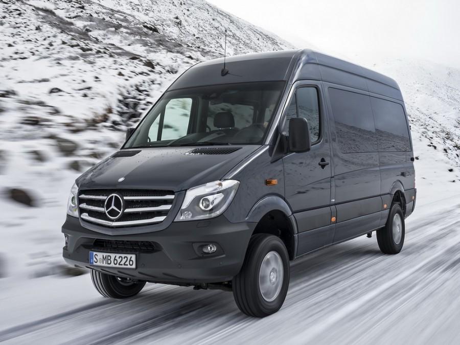Mercedes Sprinter микроавтобус, 2013–2016, W906 [рестайлинг] - отзывы, фото и характеристики на Car.ru