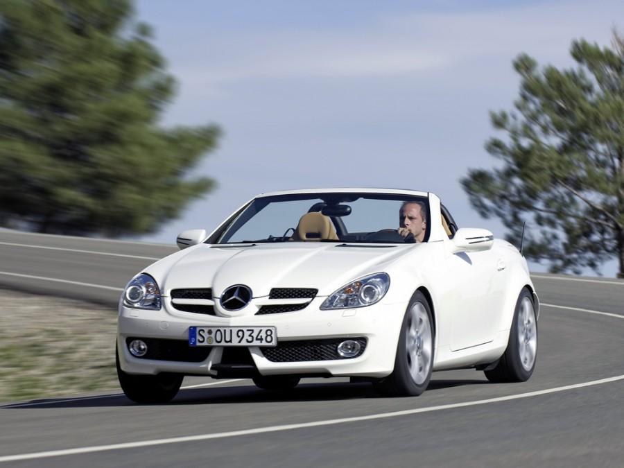 Mercedes SLK-Class родстер, 2008–2011, R171 [рестайлинг] - отзывы, фото и характеристики на Car.ru