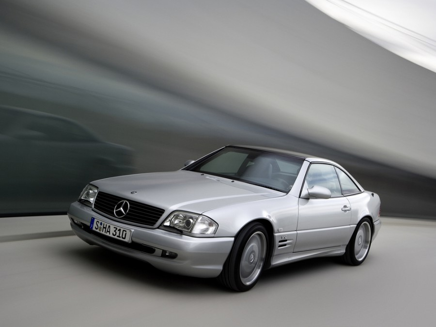 Mercedes SL-Class AMG родстер 2-дв., 1998–2001, R129 [2-й рестайлинг] - отзывы, фото и характеристики на Car.ru