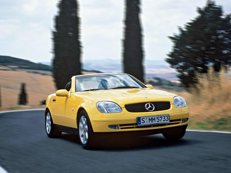 Mercedes SLK-Class родстер, 1996–2000, R170 - отзывы, фото и характеристики на Car.ru