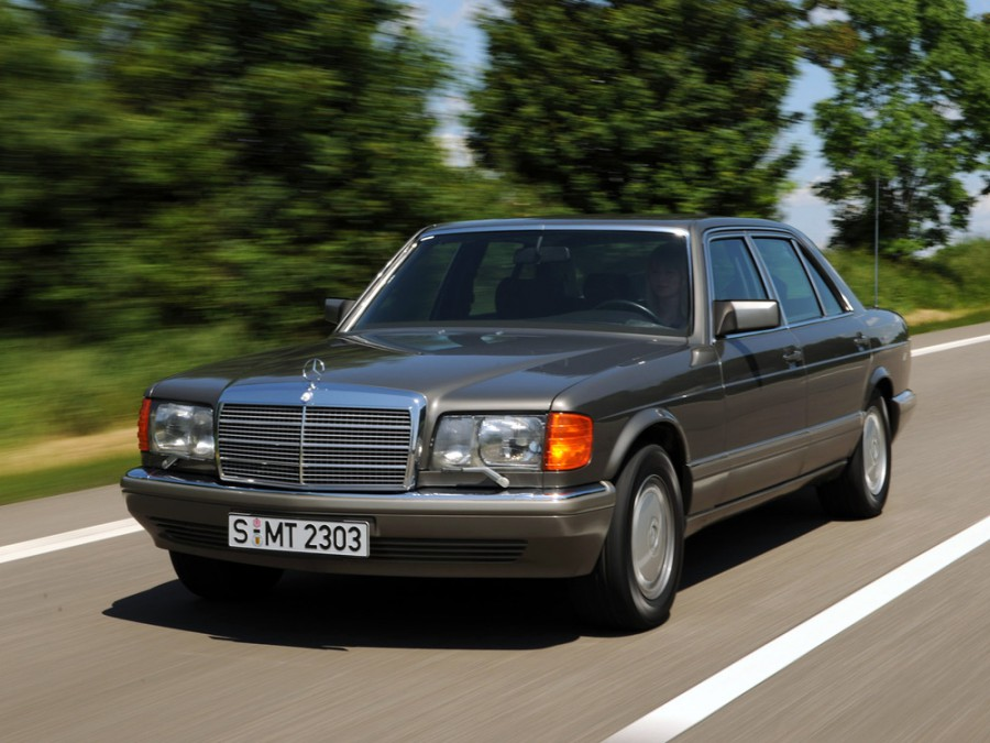 Mercedes S-Class седан, 1985–1991, W126 / C126 [рестайлинг] - отзывы, фото и характеристики на Car.ru