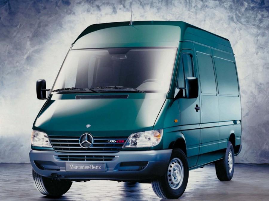 Mercedes Sprinter фургон, W901-905 [рестайлинг] - отзывы, фото и характеристики на Car.ru