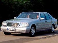 Mercedes S-Class, W140 [2-й рестайлинг], Седан, 1996–1998