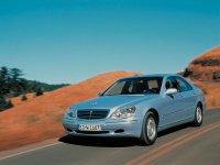 Mercedes S-Class, W220, Седан, 1998–2002