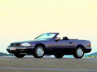 Mercedes SL-Class, R129 [рестайлинг], Родстер, 1995–1998