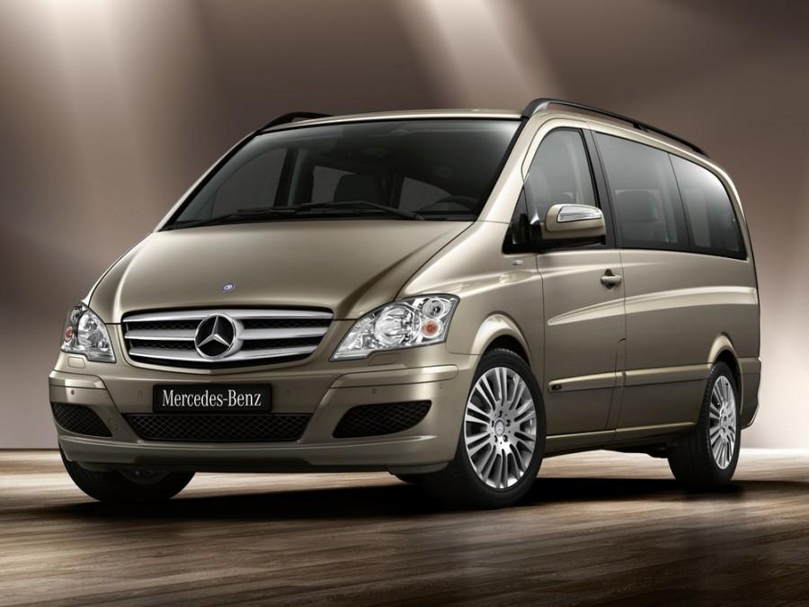 Mercedes Viano микроавтобус 4-дв., 2010–2015, W639 [рестайлинг] - отзывы, фото и характеристики на Car.ru