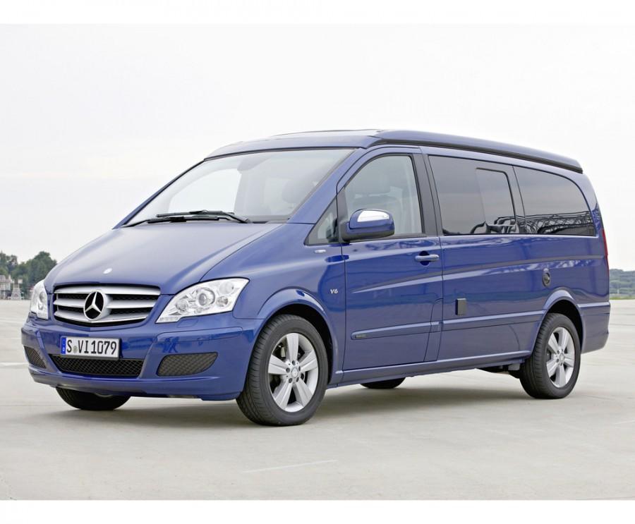 Mercedes Viano FUN микроавтобус 4-дв., 2010–2015, W639 [рестайлинг] - отзывы, фото и характеристики на Car.ru