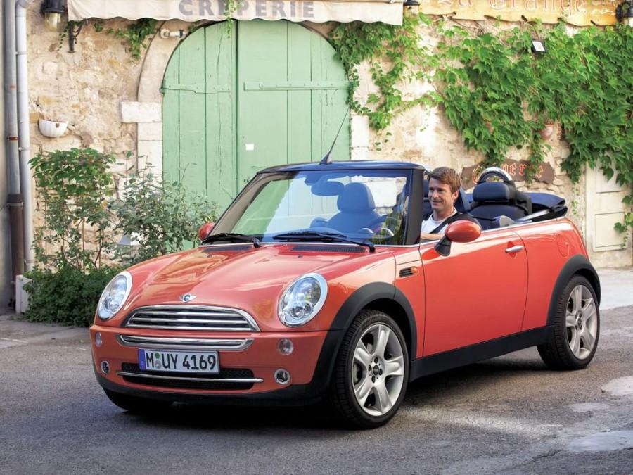Mini Cabrio Cooper кабриолет, 1 поколение - отзывы, фото и характеристики на Car.ru