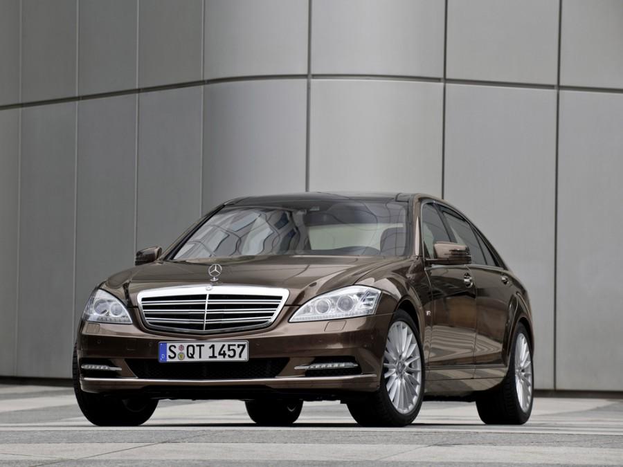 Mercedes S-Class седан 4-дв., 2009–2013, W221 [рестайлинг] - отзывы, фото и характеристики на Car.ru