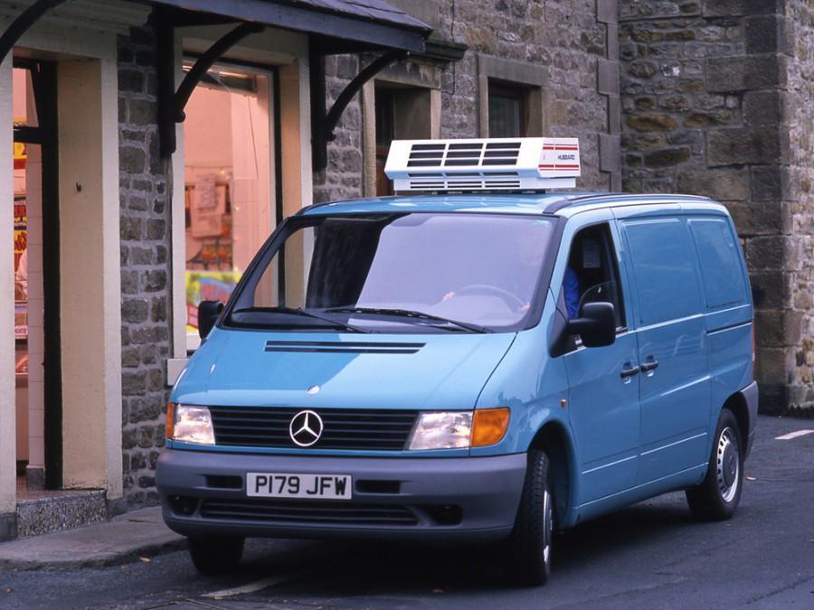 Mercedes Vito фургон, 1996–2003, W638 - отзывы, фото и характеристики на Car.ru