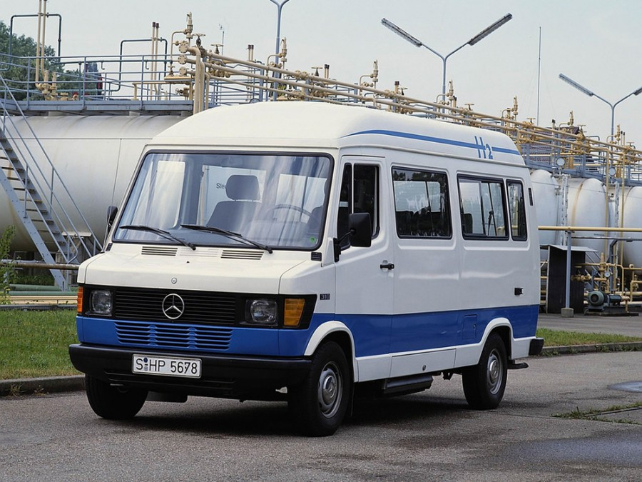Mercedes T1 микроавтобус, 1 поколение - отзывы, фото и характеристики на Car.ru