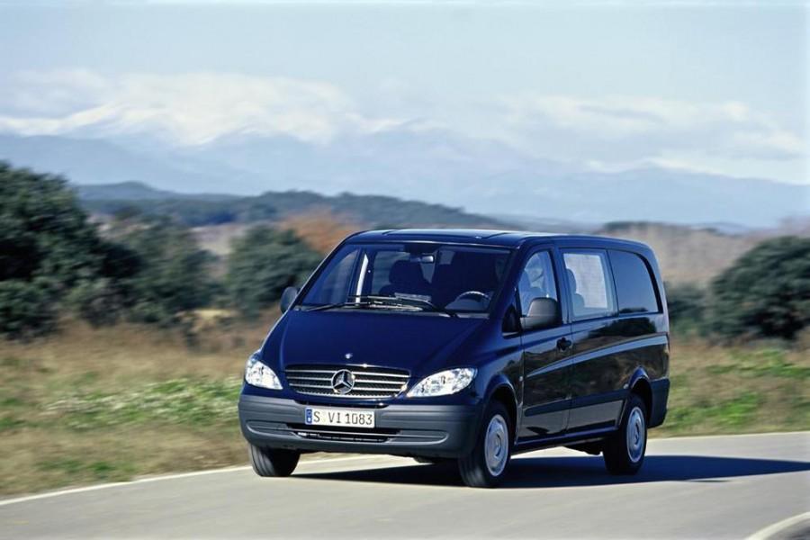 Mercedes Vito Mixto микроавтобус 4-дв., 2003–2010, W639 - отзывы, фото и характеристики на Car.ru