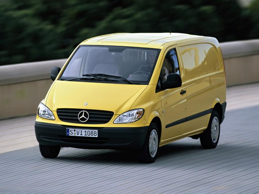 Mercedes Vito фургон, 2003–2010, W639 - отзывы, фото и характеристики на Car.ru