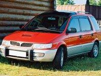 Mitsubishi Chariot, 2 поколение, Минивэн, 1991–1997