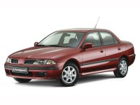 Mitsubishi Carisma, 1 поколение [рестайлинг], Седан, 1999–2004