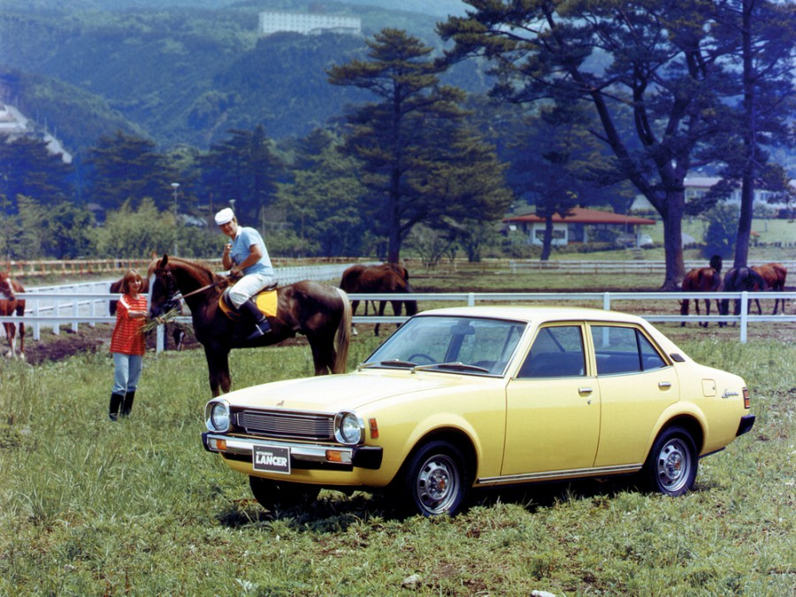 Mitsubishi Lancer JDM седан 4-дв., 1976–1985, A70 [2-й рестайлинг] - отзывы, фото и характеристики на Car.ru