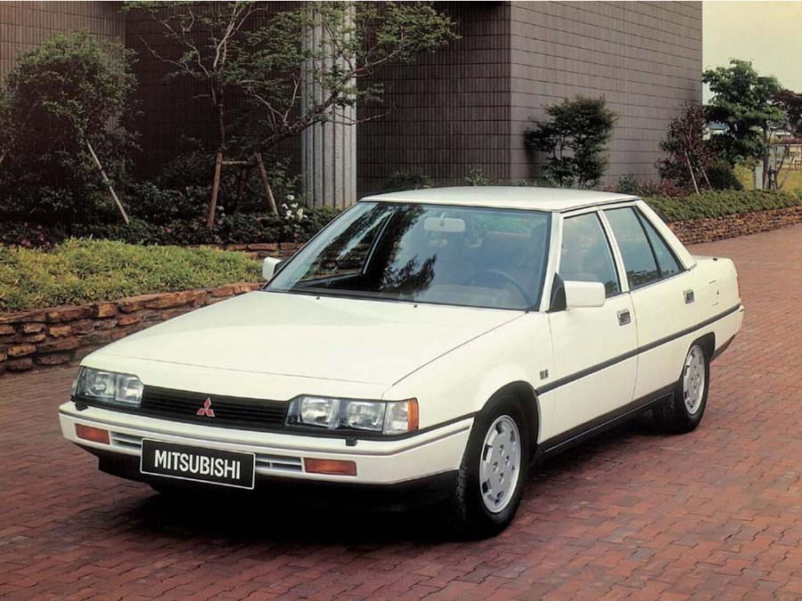 Mitsubishi Galant седан, 1984–1988, 5 поколение - отзывы, фото и характеристики на Car.ru