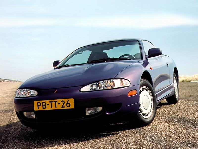 Mitsubishi Eclipse купе, 1995–1997, 2G - отзывы, фото и характеристики на Car.ru