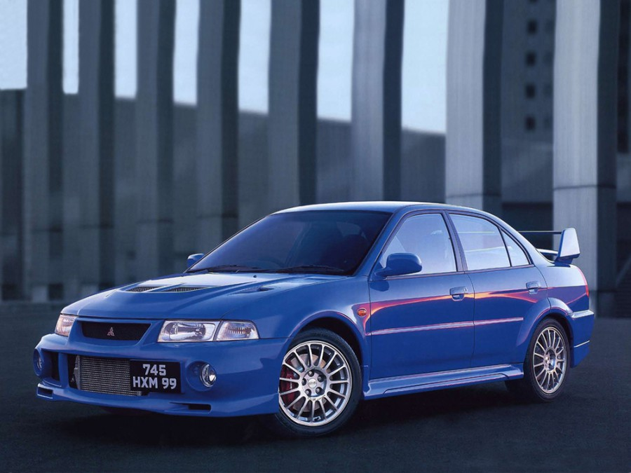 Mitsubishi Lancer Evolution седан, 1999–2000, VI - отзывы, фото и характеристики на Car.ru