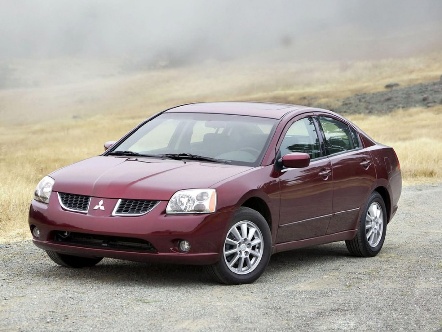 Mitsubishi Galant седан 4-дв., 2003–2011, 9 поколение - отзывы, фото и характеристики на Car.ru