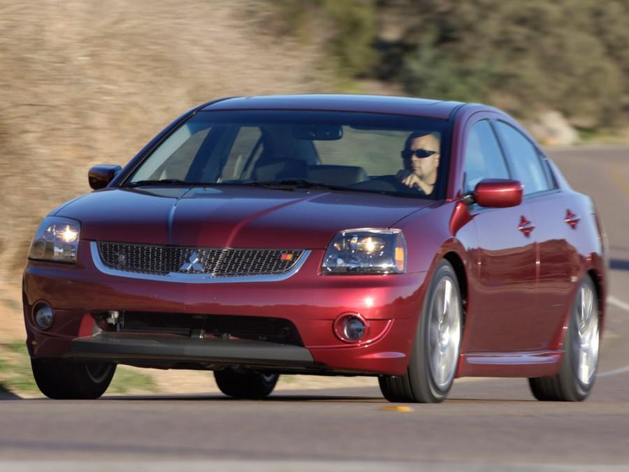 Mitsubishi Galant седан, 2007–2008, 9 поколение [рестайлинг] - отзывы, фото и характеристики на Car.ru