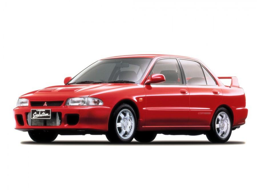 Mitsubishi Lancer Evolution седан, 1992–1994, I - отзывы, фото и характеристики на Car.ru