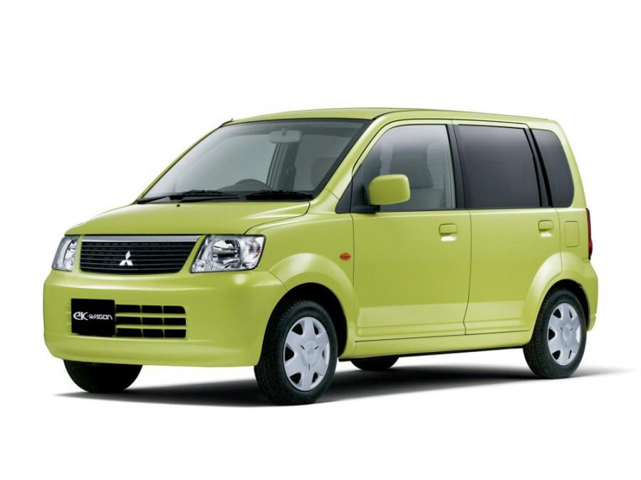 Mitsubishi EK Wagon минивэн, 2001–2016, 1 поколение - отзывы, фото и характеристики на Car.ru